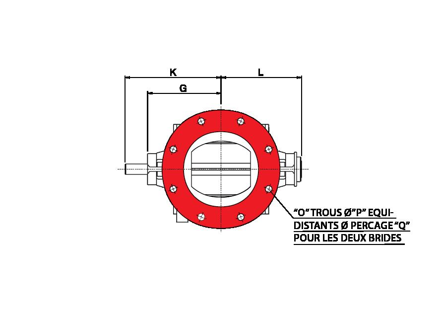 Entree Ronde écluses rotatives spéciales
