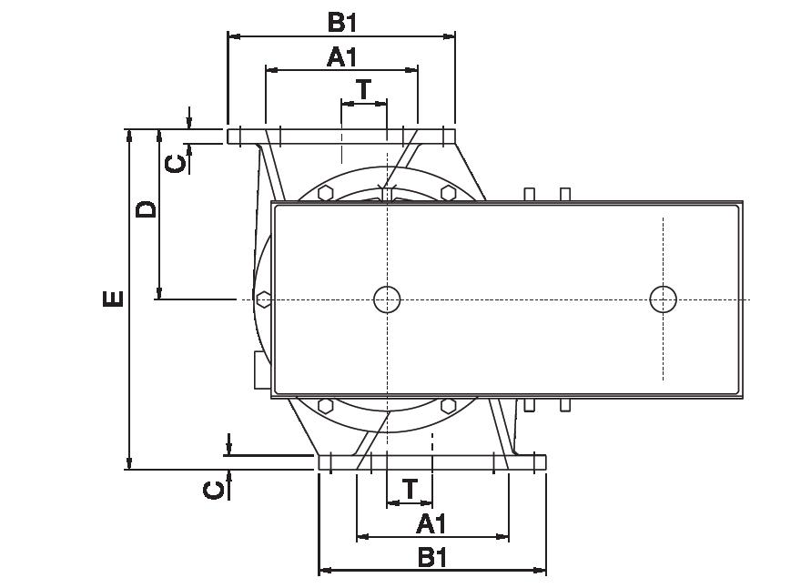 Écluses Rotatives Excentrées entree et sortie rectangulaires 2