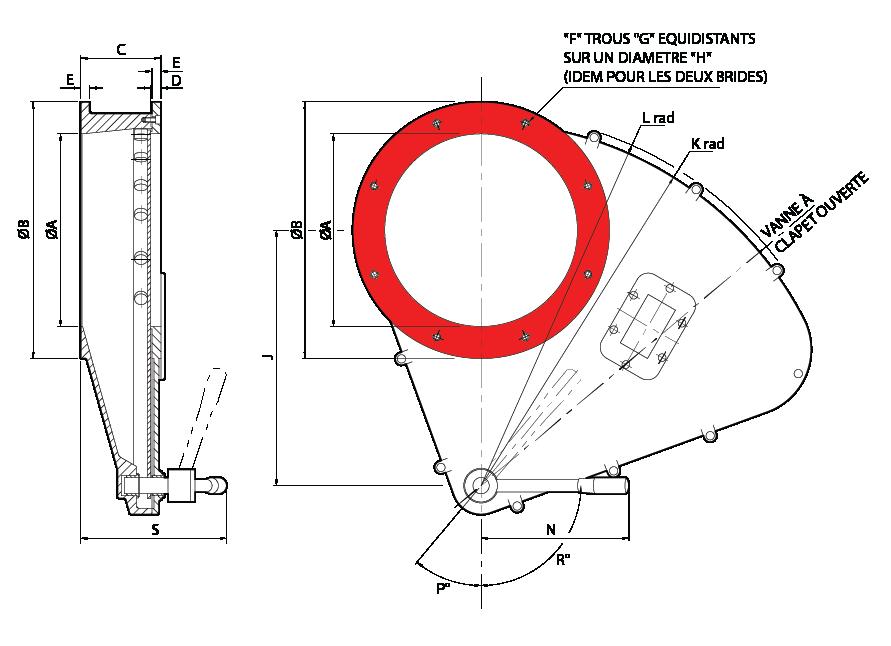 vannes guillotines rotatives Rotoslide manual