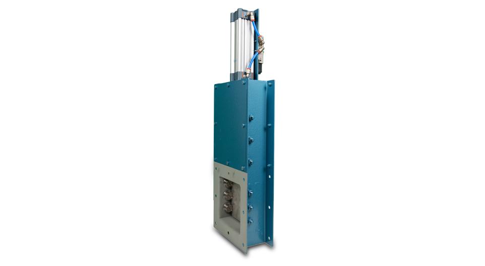 vannes guillotine mecano-soudée 3